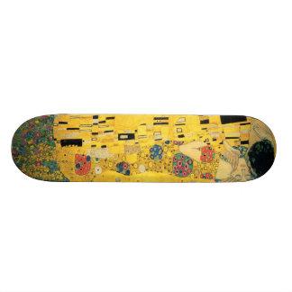 The Kiss - Gustav Klimt Skateboard