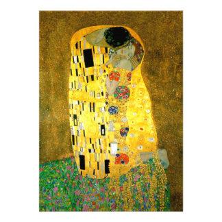 The Kiss Gustav Klimt Wedding Invitation