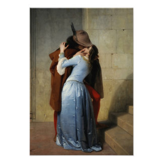 The Kiss Il Bacio custom invitations