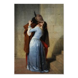 The Kiss / Il Bacio custom invitations