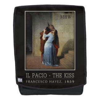 The Kiss / Il Bacio custom monogram backpack