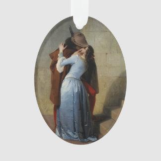 The Kiss / Il Bacio custom ornament