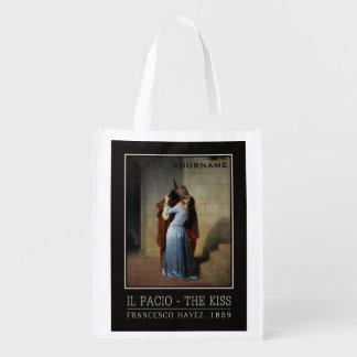 The Kiss / Il Bacio custom reusable bag