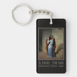 The Kiss / Il Bacio key chain