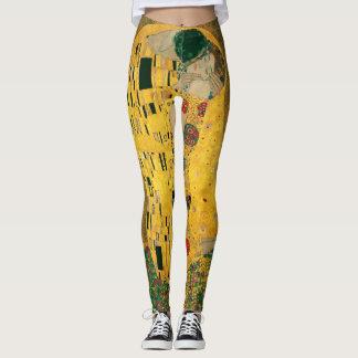 The Kiss (Klimt) leggings