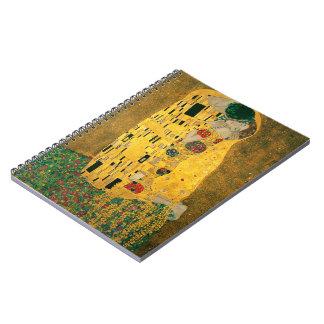 The Kiss (Klimt) notebook