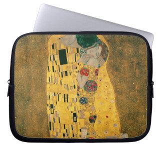 The Kiss (Lovers) by Gustav Klimt GalleryHD Computer Sleeve