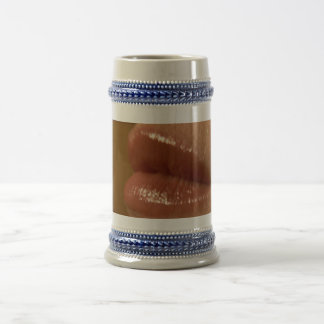 The Kiss Me Beer Stein