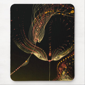 the kiss mouse pad