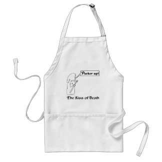 The Kiss of Death Aprons