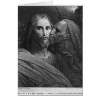 The Kiss of Judas 2 Card