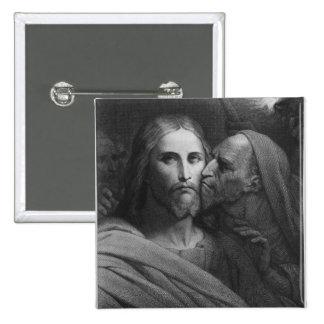 The Kiss of Judas 2 Pinback Button