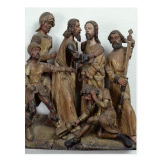 The Kiss of Judas, from Antwerp Postcard