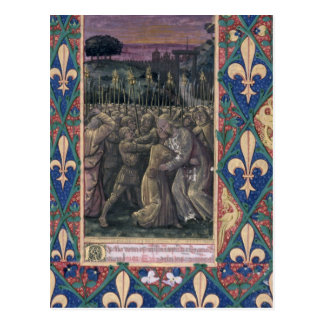 The Kiss of Judas Postcard