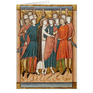 The Kiss of Judas, 'Psautier a l'Usage de Paris' Card