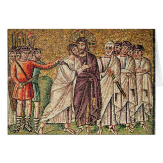 The Kiss of Judas, Scenes from the Life of Christ Card