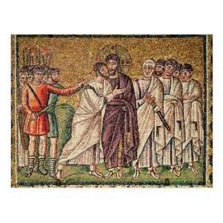 The Kiss of Judas, Scenes from the Life of Christ Postcard
