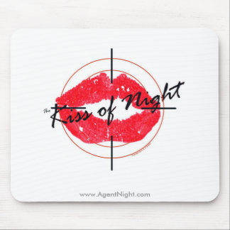 The Kiss of Night Mousepad