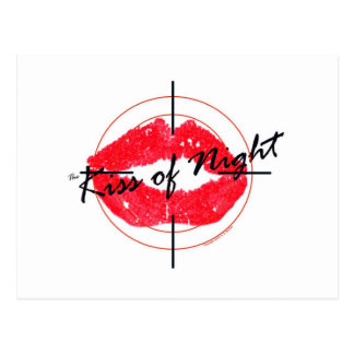 The Kiss of Night Post Card