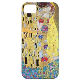 The Kiss (original Der Kuss) by Gustav Klimt iPhone SE/5/5s Case