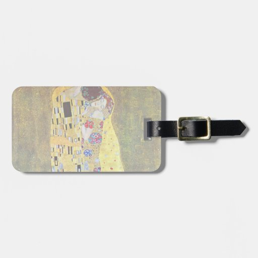 The Kiss (original Der Kuss) by Gustav Klimt Tag For Bags