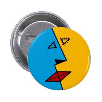 the kiss pinback button