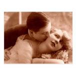 The Kiss Post Card