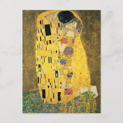 The Kiss Postcards