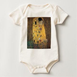 The Kiss, ,reproduction,Gustav Klimt painting,art Baby Bodysuits