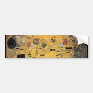 The Kiss, ,reproduction,Gustav Klimt painting,art Car Bumper Sticker