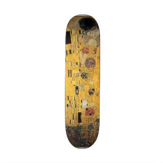 The Kiss, ,reproduction,Gustav Klimt painting,art, Skate Boards