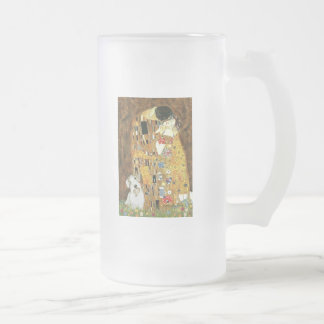 The Kiss - Sealyham Terrier Frosted Beer Mug