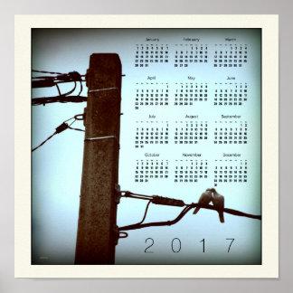 THE KISS square Calendar Poster 2017