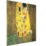 The Kiss Stretched Canvas Prints