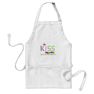 the kiss theory adult apron