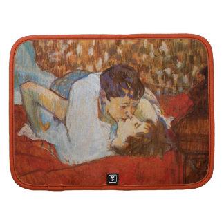 The Kiss - Vintage Art by Toulouse-Lautrec Planner