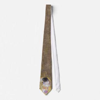 The Kiss Wedding by Gustav Klimt Tie
