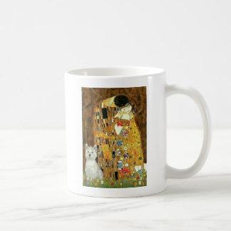 The Kiss - Westie (S) Classic White Coffee Mug