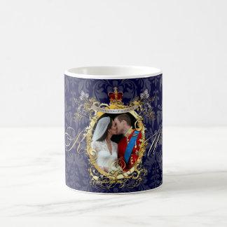 the kiss, will+kate wedding/DIY Color!! Coffee Mug