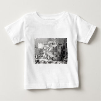 The Kissers photograph mural, Highline NYC Baby T-Shirt
