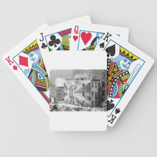 The Kissers photograph mural Highline NYC Playing Cards