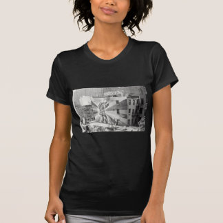 The Kissers photograph mural, Highline NYC T-Shirt