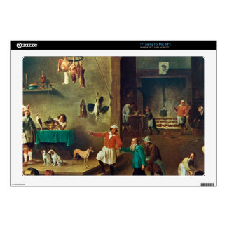 """The Kitchen by David Teniers the Younger Skins For 17"""" Laptops"""