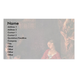 The Kitchen By Lancret Nicolas (Best Quality) Business Card Templates