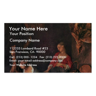 The Kitchen By Lancret Nicolas (Best Quality) Business Cards