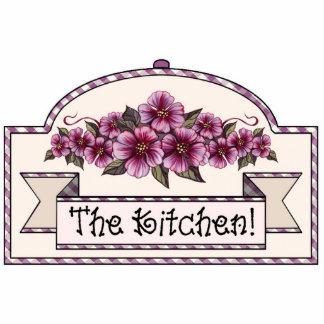 """The Kitchen"" - Decorative Sign - 26 Cutout"