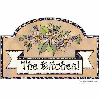 """""""The Kitchen"""" - Decorative Sign Statuette"""