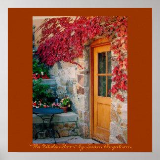 """ The Kitchen Door""  by Susan Bergstrom Poster"