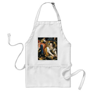 The Kitchen in detail by Vincenzo Campi Adult Apron