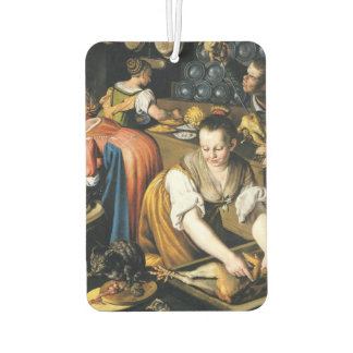 The Kitchen in detail by Vincenzo Campi Car Air Freshener